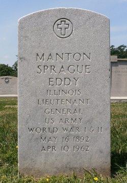 Gen Manton Sprague Eddy