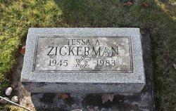 Tessa A Zickerman